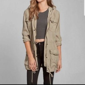 Abercrombie and Fitch Tan Utility Jacket